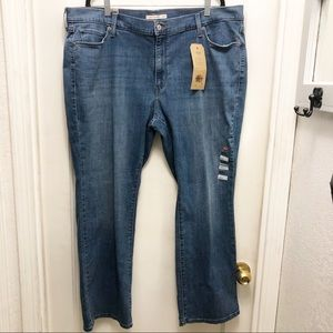 NWT Levi's 415 Classic Bootcut Mid-Rise Jeans